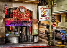 Lori's Diner in San Francisco, CA