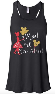 Women's Disney Shirt - Meet Me on Main Street