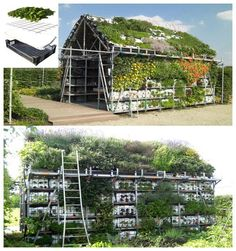 Another excellent idea for recycling in your garden!