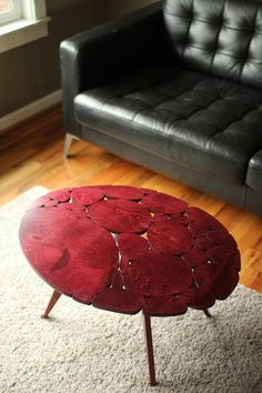 Modern+Coffee+Table+Oval+Shape+by+MichaelArras+on+Etsy,+$439.00