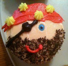 Pirate Cupcake - I think I found my design!