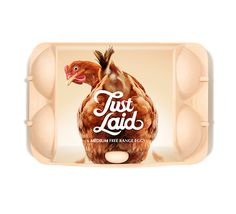 Great concept for egg packaging.