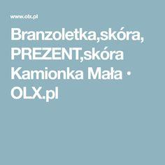 Branzoletka,skóra,PREZENT,skóra Kamionka Mała • OLX.pl
