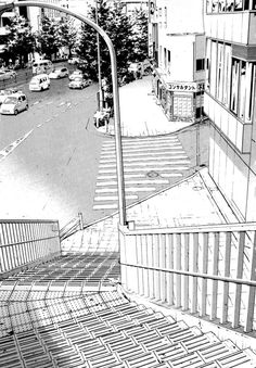 How to draw a city street step by step. Environment Concept Art, Environment Design, Cityscape Drawing, Comics Illustration, Background Drawing, Perspective Drawing, Urban Sketchers, Anime Scenery, Urban Landscape