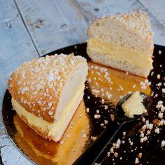 Découvrez la recette Tarte tropézienne sur cuisineactuelle.fr.