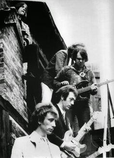 The Pretty Things: Phil May, Brian Pendleton, Viv Prince, Dick Taylor, and John Stax rock band