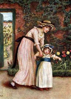two-girls-in-a-garden.jpg 445×615 pixels