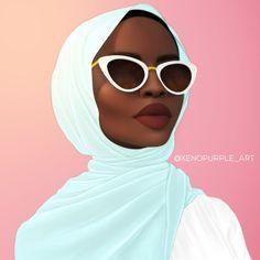 Muslimah by XenoPurple on DeviantArt