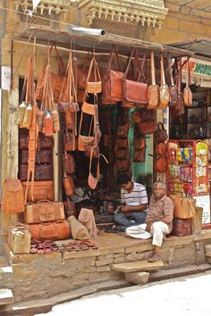 Vijay Leather Works in Jaisalmer, India