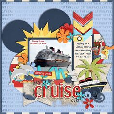 Cruise idea, even though mine won't be a disney cruise the layers are cool.