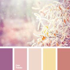 beige and brown, brown, brown and beige, brown and lilac, brown and violet, lilac and brown, pastel yellow, shades of brown, shades of brown color, shades of pink, shades of violet, warm brown, wine color.