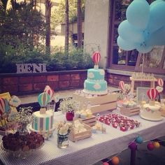Up themed baby shower!! How stinking cute!!! #babyshower