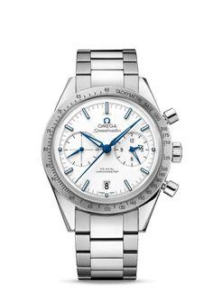 331.90.42.51.04.001 : Omega Speedmaster 57 Co-Axial White Titanium