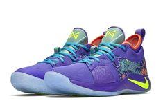 c0dff2fca3d Nike PG 2 MM Mens Basketball Shoes 12 Cannon Volt Purple Venom B-grade