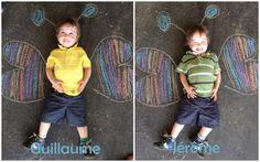 La fois où j'ai transformé mes jumeaux en papillons :-)