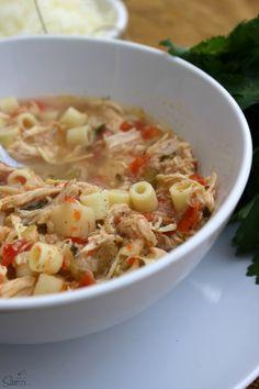 Slow-Cooker Sicilian Chicken Soup