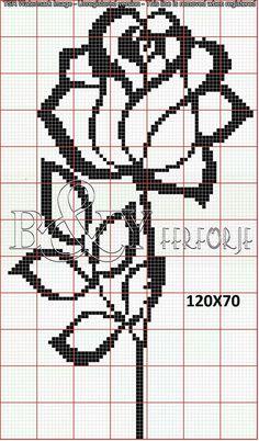 Cross Stitch Heart, Cross Stitch Alphabet, Cross Stitch Flowers, Cross Stitch Kits, Cross Stitch Patterns, Crochet Chart, Filet Crochet, Bead Loom Patterns, Crochet Patterns