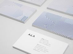 Business Card | white | blue