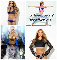 Britney Spears yoga workout! #workbitch