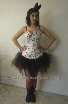 Coolest Homemade Queen of Hearts Costume... Coolest Halloween Costume Contest
