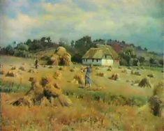 Peder Mørk Mønsted (Danish, 1859–1941) - HOSTLANDSKAB , 1935
