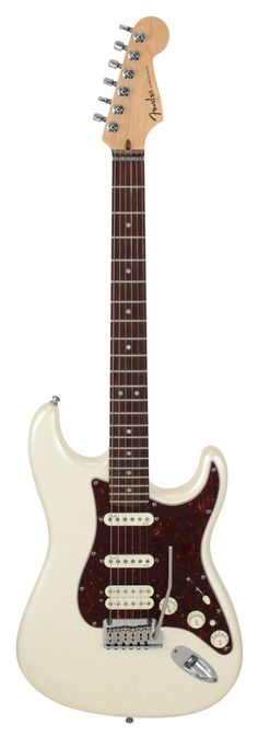 Fender Electric Guitar American Deluxe Stratocaster HSS Olympic Pearl