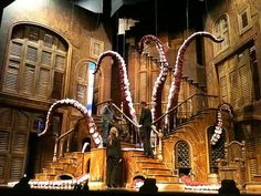 Show: The Addams Family (2010 Broadway)  Scenic Designers: Phelim McDermott & Julian Crouch