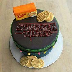 """1,841 Likes, 73 Comments - Stranger Things (@strangerthingses) on Instagram: """"Best cake ever! #StrangerThings"""""""
