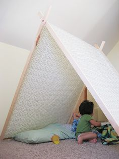 Now this is a tent that would actually look cute in a living room!