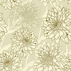 Papel de Parede Floral 1223