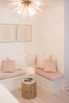 Modern Living room Decor Ideas for Small Room My New Room, My Room, Living Room Decor, Bedroom Decor, Gold Bedroom, Pink Room, Room Inspiration, Furniture Design, Table Furniture