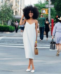 Solange Knowles asked all concert-goers to wear white to her performance at the Guggenheim. The result? All the Memorial Day style inspiration you could ev Street style, street fashion, best street style, OOTD, OOTD Inspo, street style stalking, outfit ideas, what to wear now, Fashion Bloggers, Style, Seasonal Style, Outfit Inspiration, Trends, Looks, Outfits.