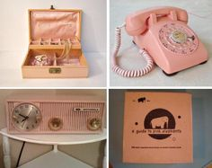 Wish I had these now. Especially the phone and radio!