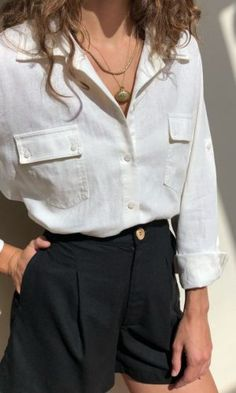 28 spring fashion that looks cool necklace , 28 Spring Fashion That Make You Look Cool , Street Style Outfit Source by adnatiosqual Mode Outfits, Casual Outfits, Fashion Outfits, Womens Fashion, Fashion Ideas, Woman Outfits, Latest Fashion, Office Outfits, Dress Casual