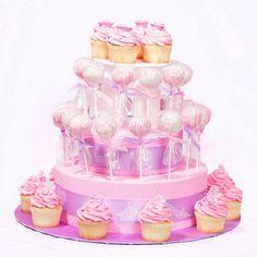 Buen dìa gente pues aqui les tengo fotos de como montar sus pop cakes para sus fiestas y unos diseños de pop cakes, ya saben en diseños se r...
