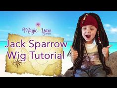Jack Sparrow Wig Tutorial - YouTube