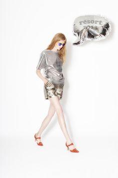 Cynthia Rowley Resort 2013 Fashion Show - Monika Sawicka
