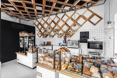 Przystanek Piekarnia Bakery by Five Cell, Warsaw – Poland » Retail Design Blog