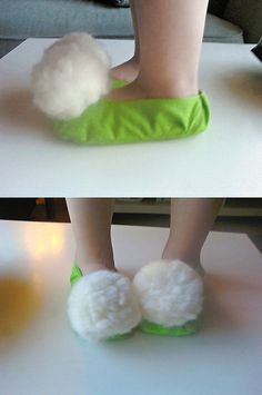 tinkerbell shoes- Perfect for Maddy's costume this year!