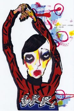 2 015 Первый год Иллюстрация | Университет визуальной портфолио Вестминстера | BOF Карьера | Бизнес моды