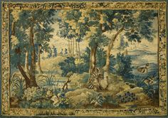 Verdure Tapestry | Antique Tapestry Wall Hangings