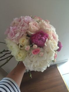 Bouquet pour la marie