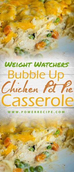 Bubble Up Chicken Pot Pie Casserole – All about Your Power Recipes