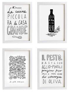 French Kitchen Print 11x15 La Petite Boulangerie Paris by anek
