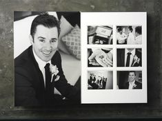 Queensberry Wedding Album | Duo - http://www.queensberry.com/duo | Guy Davies Photographer #weddingalbum