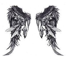 Fairy wings tattoo