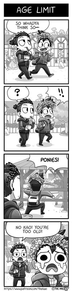 Mondo Mango :: Age Limit | Tapastic Comics - image 1
