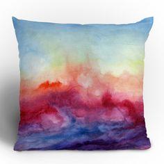 Arpeggi Throw Pillow  by Jacqueline Maldonado