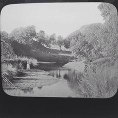 Magic Lantern Slide Transvaal War Crocodile River Mulders Drift South Africa
