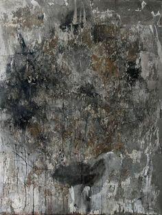 Toni R. Toivonen: Jonkin on hajottava, 2013, ruoste, pigmentti ja vuoden 2013 alkuperäinen teos (rauta, paperi, muistesuihkutuloste) - tm-galleria